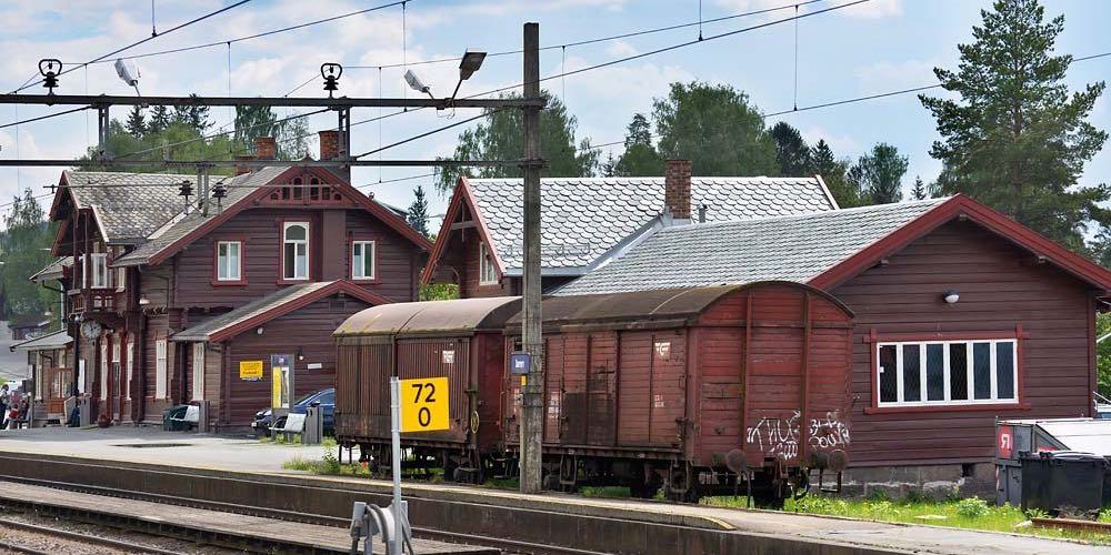 Dråpeskifer på Jaren stasjon - Rom Eiendom