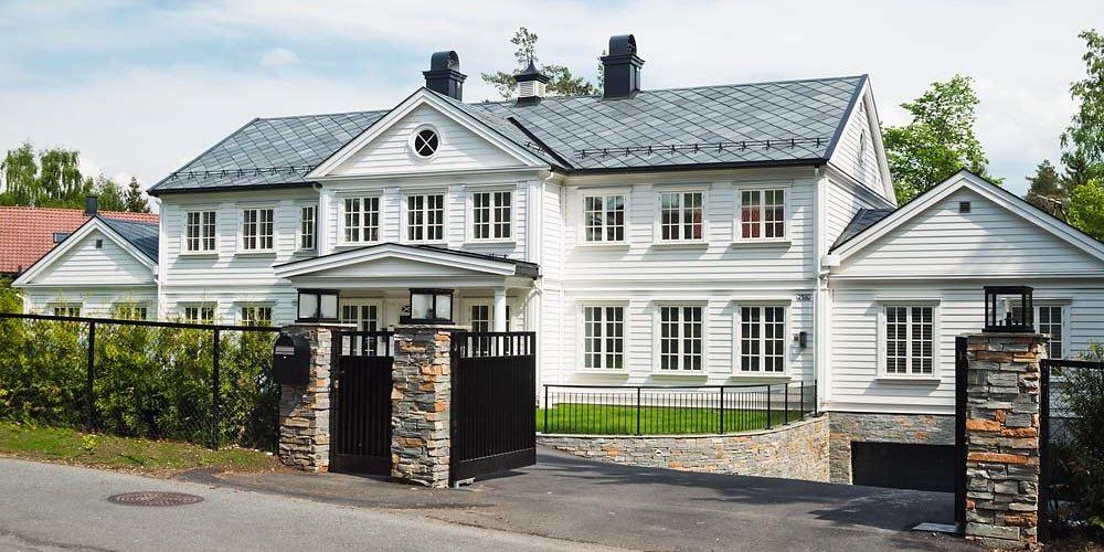 Takskifer på Gripsholmhus
