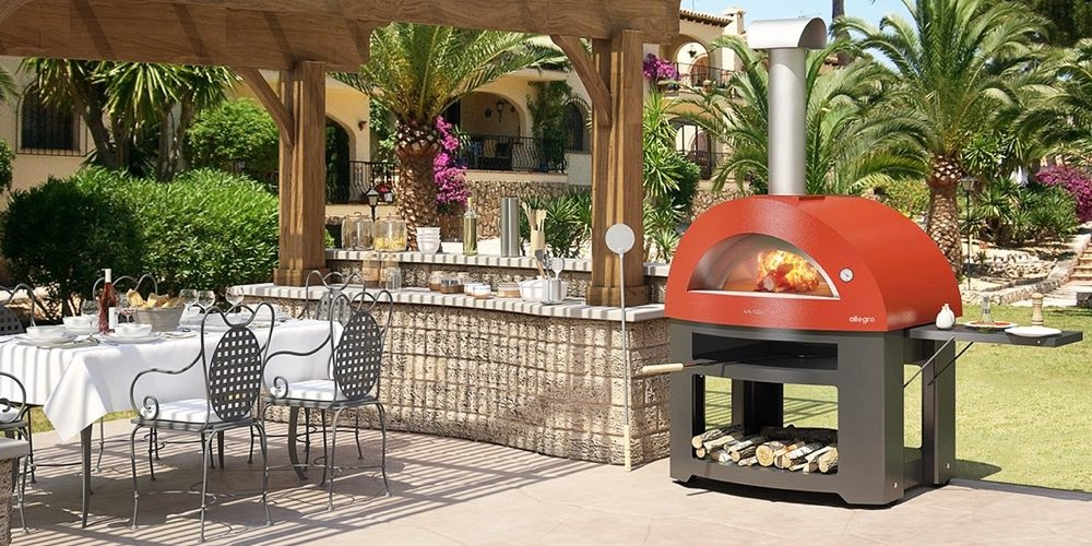 Italiensk bakerovn for terrassen